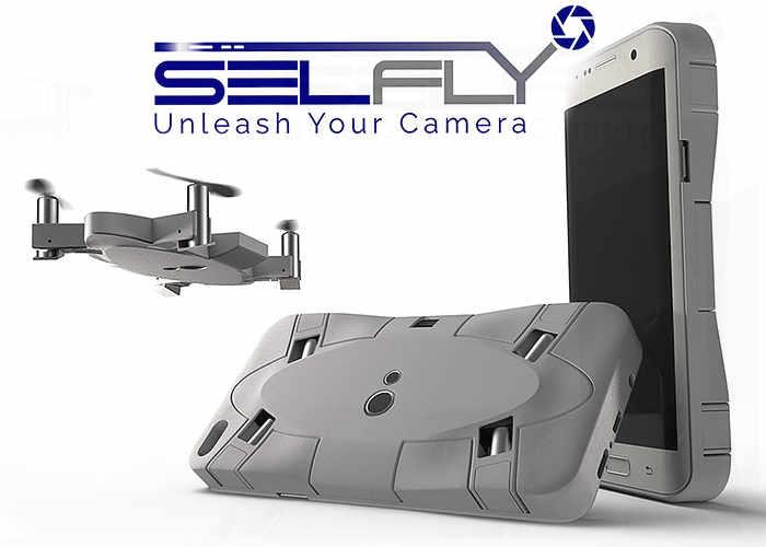 selfly: Drone pour smartphone