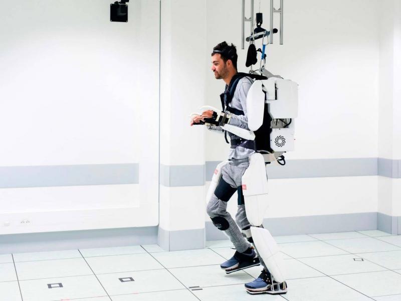 IA exosquelette medecine