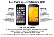 iphone6 vs nexus4